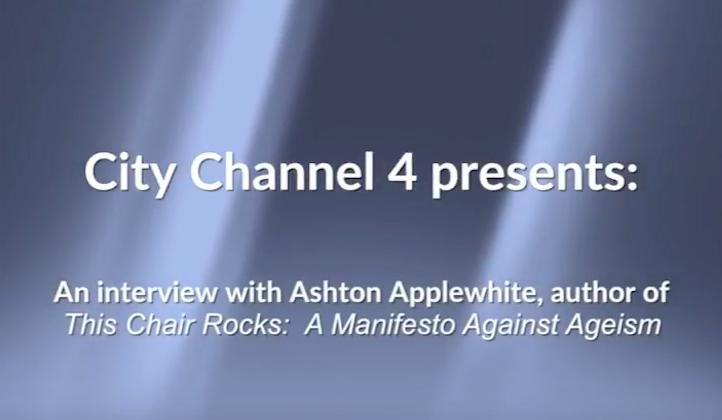 Interview on City Channel Four, Iowa City, Iowa