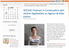 NYC Elder Abuse Center podcast