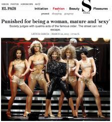 article in S Moda magazine (Condé Nast+El Pais, Spain)