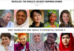 Revealed: The World's 100 Most Inspiring Women