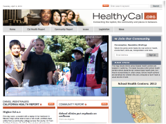interview in California Health Report