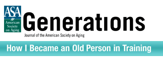 How I Became an Old Person in Training