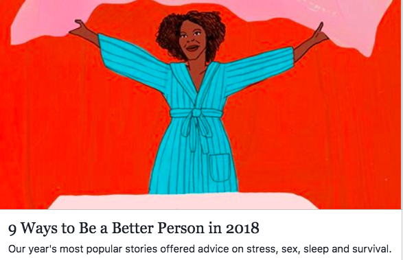 Most popular stories of 2018, New York Times Style section
