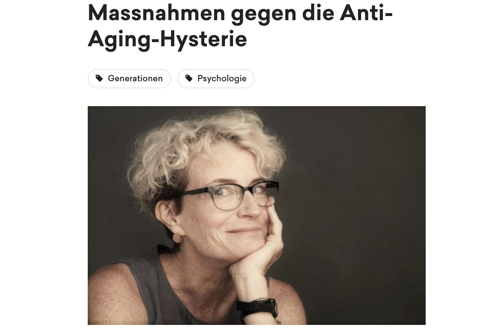 article in Neustarter magazine (German)