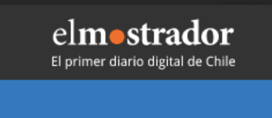 Article in Elmostrador, Chile's Premier Digital Newspaper
