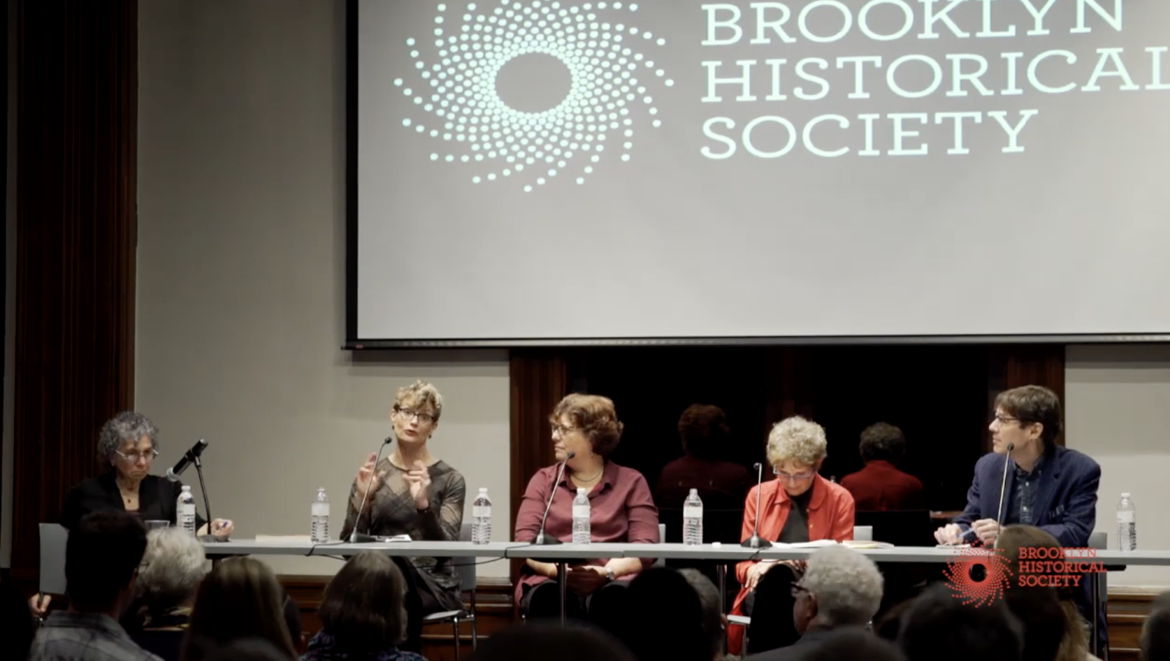 panel on 'Old Myths' at the Brooklyn Historical Society