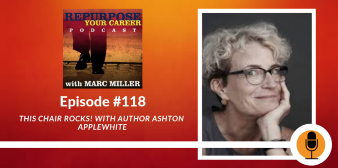 interview, Repurpose your Career podcast with Marc Miller and book review
