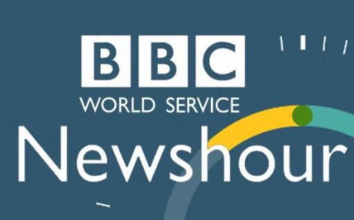 interview, BBC Newshour radio