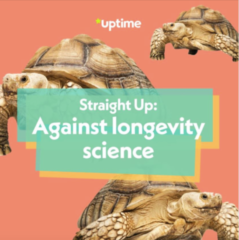 Straight Up: Against longevity science