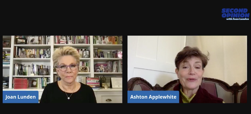 conversation, on Facebook Live with Joan Lunden